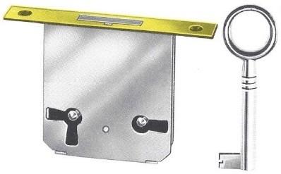 Møbellås nøkler
