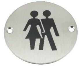 Toalett skilt